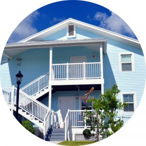 Property in Key West Beach Florida is advertised for sale.